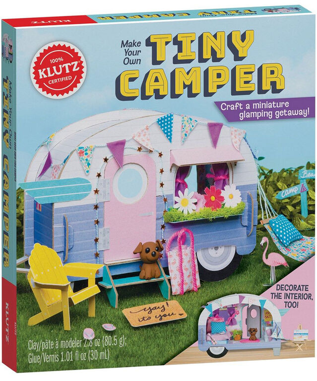 Scholastic - Klutz: Make Your Own Tiny Camper - English Edition