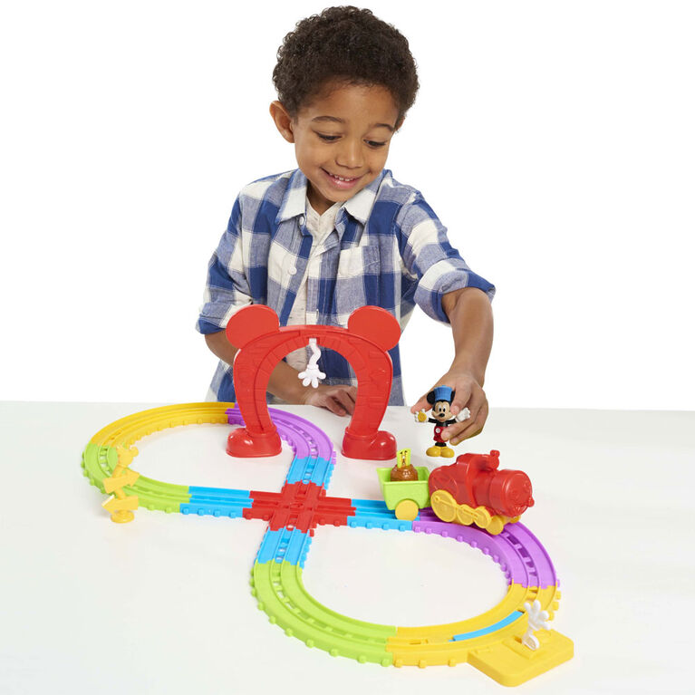 Disney's Mickey Mouse Mickey's Musical Express Train Set - R Exclusive