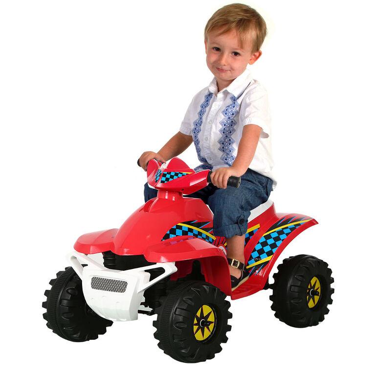 Rollplay 6V Racer Mini Quad, Red
