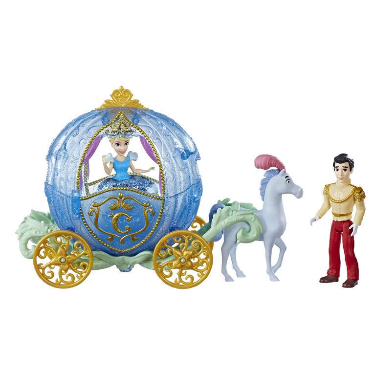 Disney Princess Royal Carriage Ride, Cinderella and Prince Charming Dolls