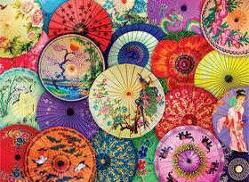 Eurographics Asiatique Parapluies en Papier-Papier 1000 Piece Puzzle