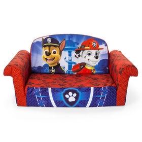 Marshmallow Furniture, Children's 2 in 1 Flip Open Foam Sofa, Nickelodeon Paw Patrol, by Spin Master - Exclusive