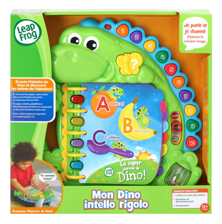 LeapFrog® Dino's Delightful Day Book™ - French Edition