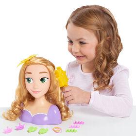 Tête de Coiffure Princesse Disney de Raiponce