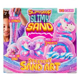 Art de sable élastique pailleté de SLIMYGLOOP®SLIMYSAND™
