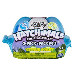 Hatchimals CollEGGtibles Season 2 - 2-Pack Egg Carton - Citrus Coast by Spin Master