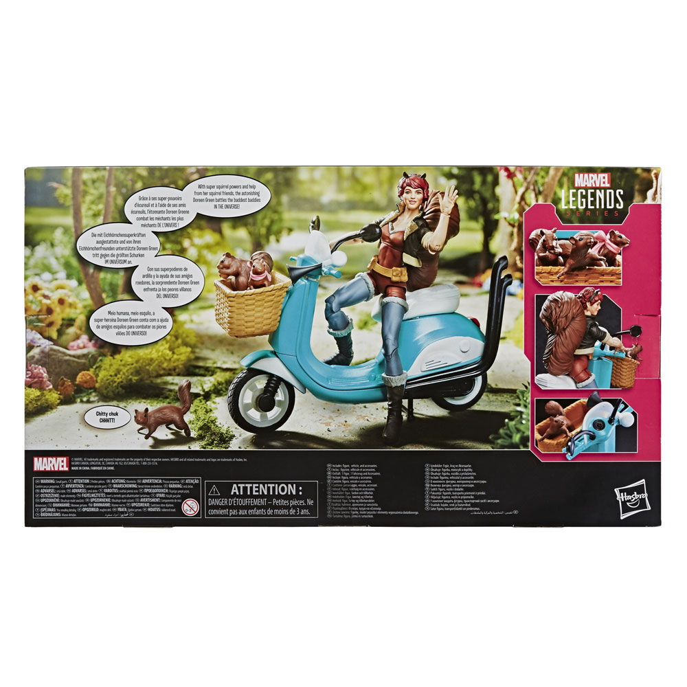 """Marvel Legends 6/"""" Action Figure véhicules-imbattable SQUIRREL GIRL"""