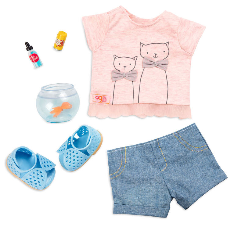 Our Generation, Playtime Pets, Kitten Outfit for 18-inch Dolls