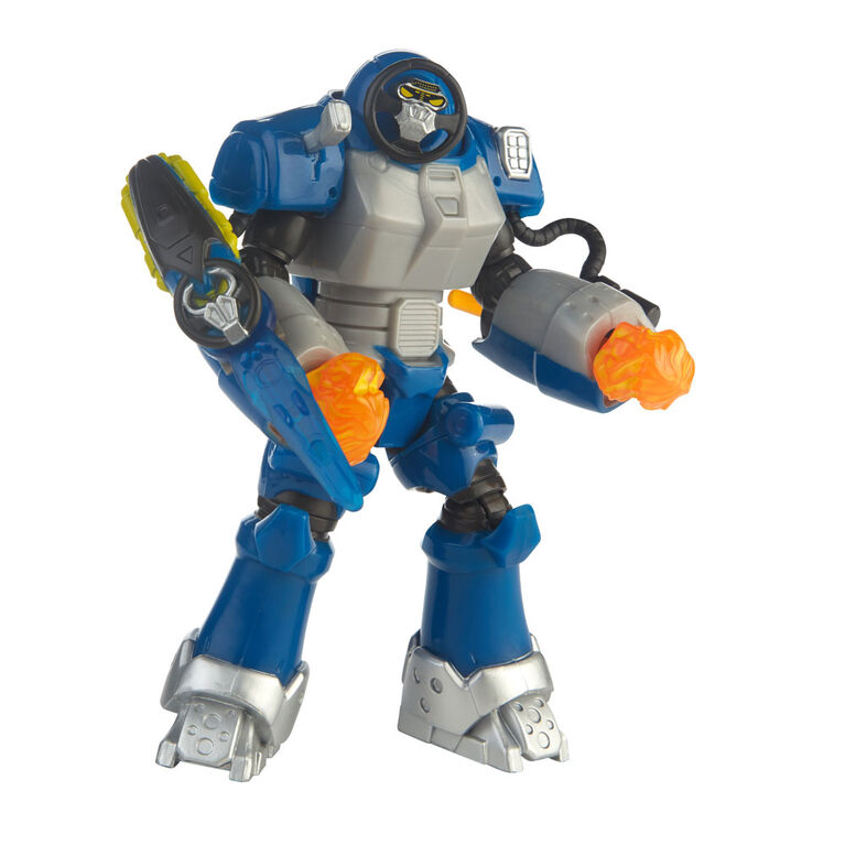 Power Rangers Beast Morphers - Figurine de 15 cm Smash Beastbot.