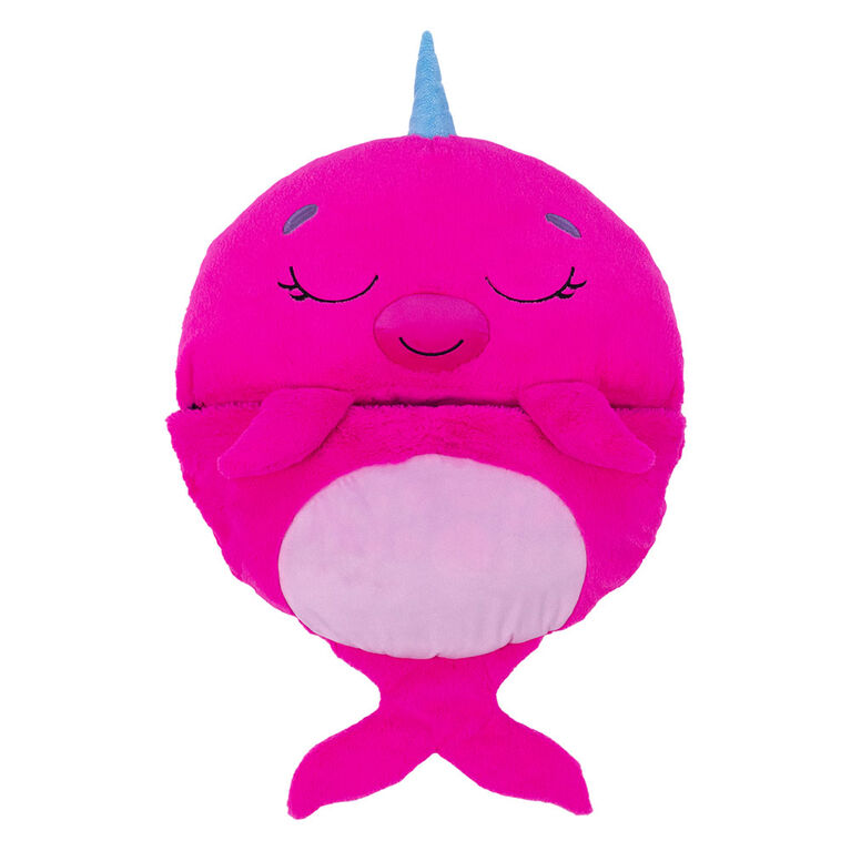 """Happy Nappers 20"""" Narwhal"""
