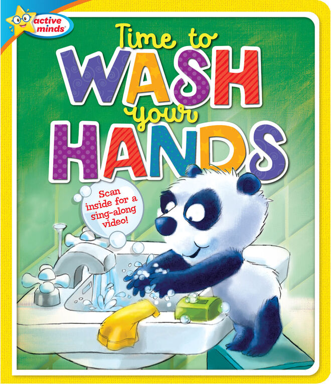 Happy Healthy Time To Wash Your Hands - English Edition