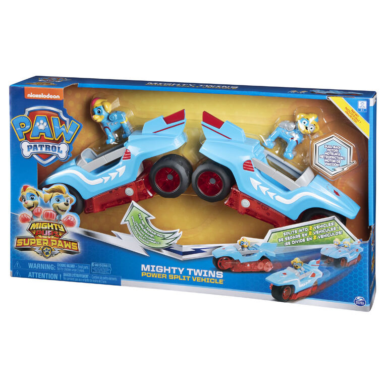 PAW Patrol Mighty Twins 2-in-1 Power Split Vehicle  051864