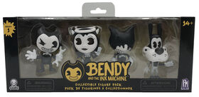 Coffret de 4 figurines à collectionner Bendy and the Ink Machine.