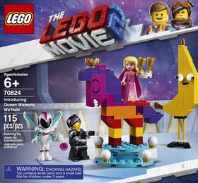 LEGO The LEGO Movie 2 Introducing Queen Watevra Wa'Nabi 70824