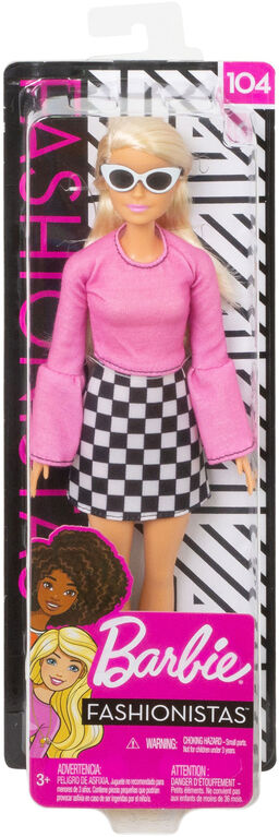 Barbie Fashionistas Doll - Checkered Cutie