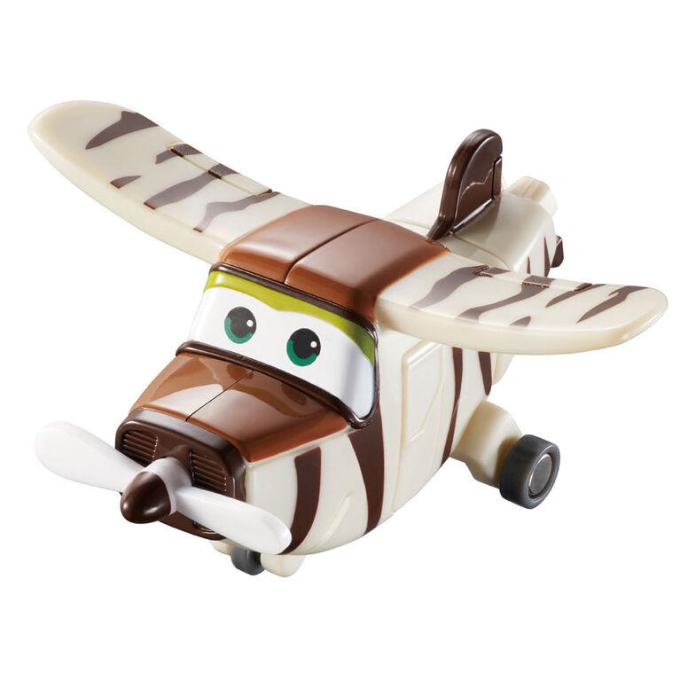 Super Wings Transform-a-Bots 4 Pack - Donnie/Dizzy/Jerome/Bello