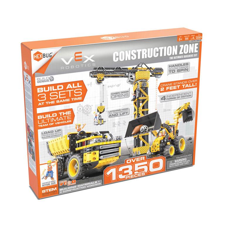 VEX, Zone de construction, Grue