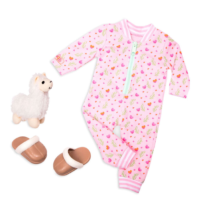 Our Generation, Llama Llullabies, Pajama Outfit for 18-inch Dolls