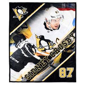 NHLPA Ultimate Fan Throw- Sidney Crosby