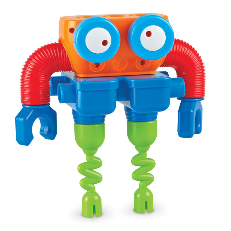 Learning Resources 1-2-3 Build It! Robot - English Editon