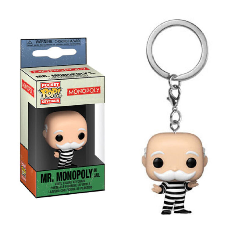 Funko POP! Keychains: Monopoly - Criminal Uncle Pennybags