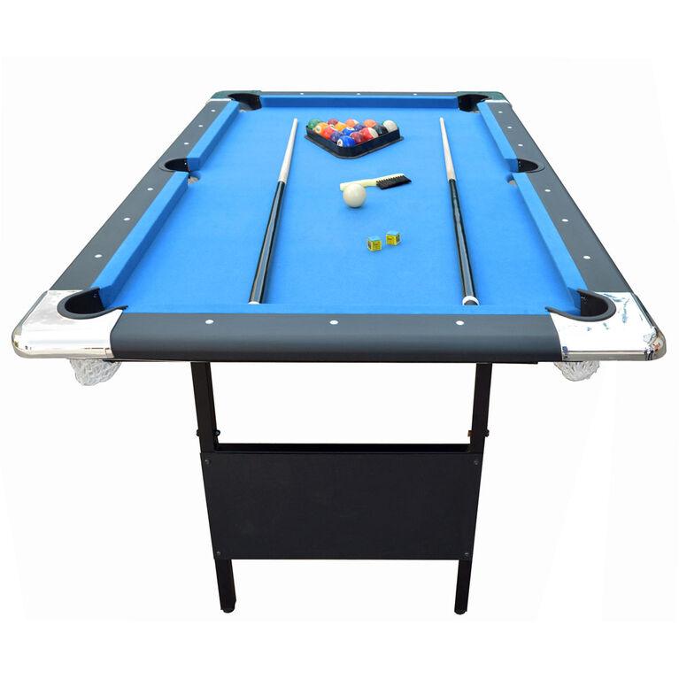 Fairmont - Table de billard portative 1,8 m