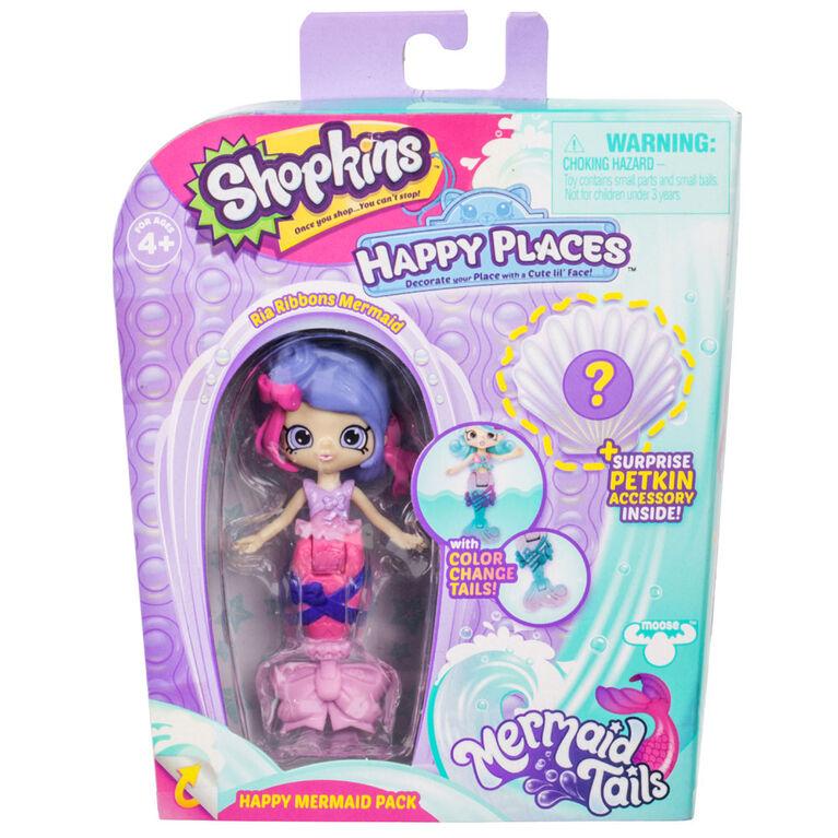 Shopkins Happy Places - Happy Mermaid Pack - Ria Ribbons
