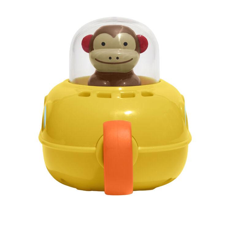Skip Hop Zoo Bath Pull & Go Submarine, Monkey