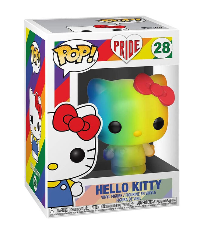 Funko Pride POP! Anime: Hello Kitty - Hello Kitty (Rainbow)