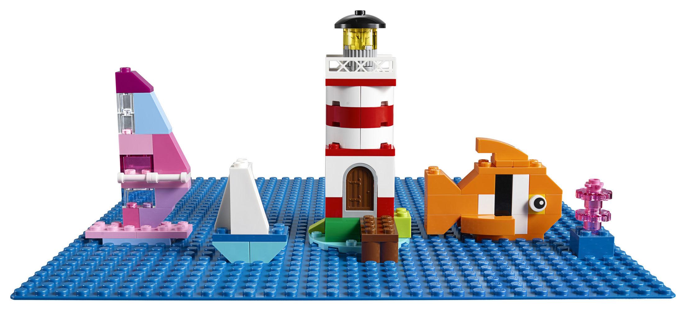 LEGO® Classic Blue Baseplate 10714 1 Pcs