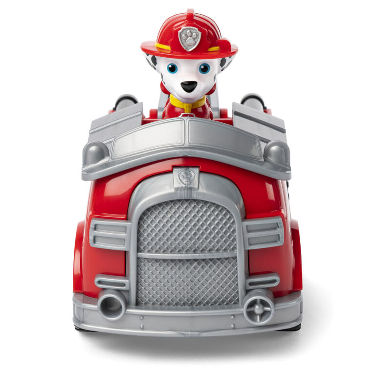 PAW Patrol, Marshall's Fire Engine Vehicle with Collectible Figure