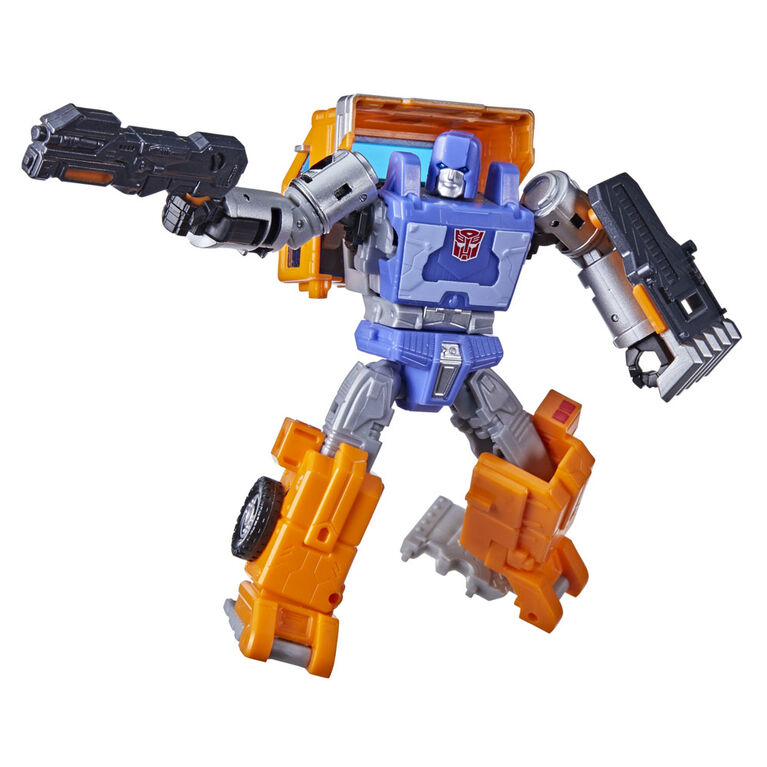 Transformers Generations War for Cybertron: Kingdom - WFC-K16 Huffer Deluxe