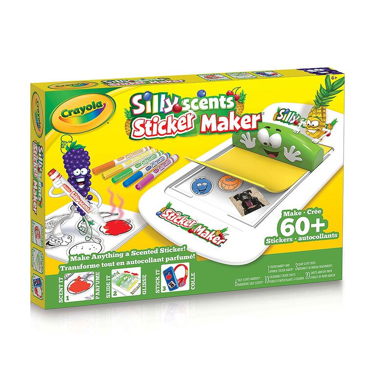 Crayola Silly Scents Sticker Maker