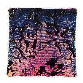 Style Lab Magic Sequin Pillow Scattered Purple Sequin/Velvet