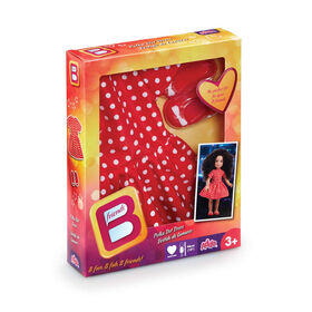 B Friends - Polka Dot Dress Fashion Clothes for 18-inch Doll