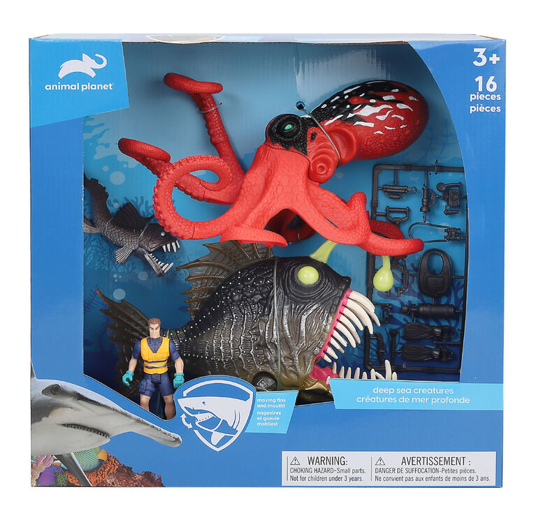 Animal Planet - Deep Sea Creatures Set - R Exclusive
