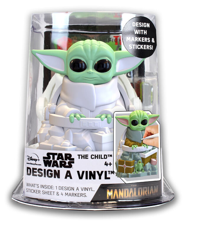 Mandalorian The Child Design A Vinyl