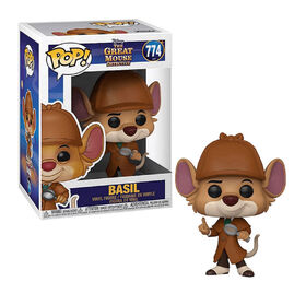 Funko POP! Disney Movies: The Great Mouse Detective - Basil