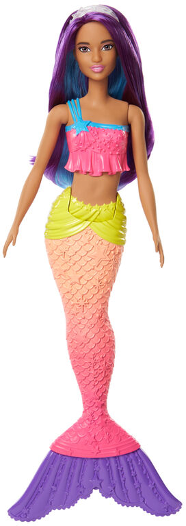 "Barbie Dreamtopia Mermaid 12"" Doll - Purple"