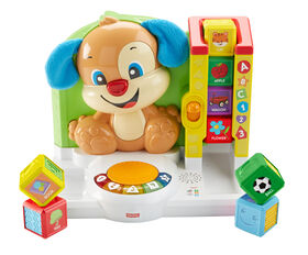 Fisher-Price Laugh & Learn First Words Smart Puppy - English Edition