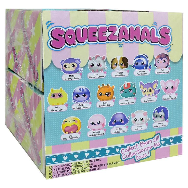 Squeezamals Cubby Cube Boite à Surprises