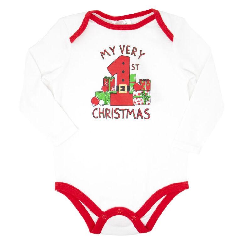 Koala Baby First Christmas Holiday Onesie NB