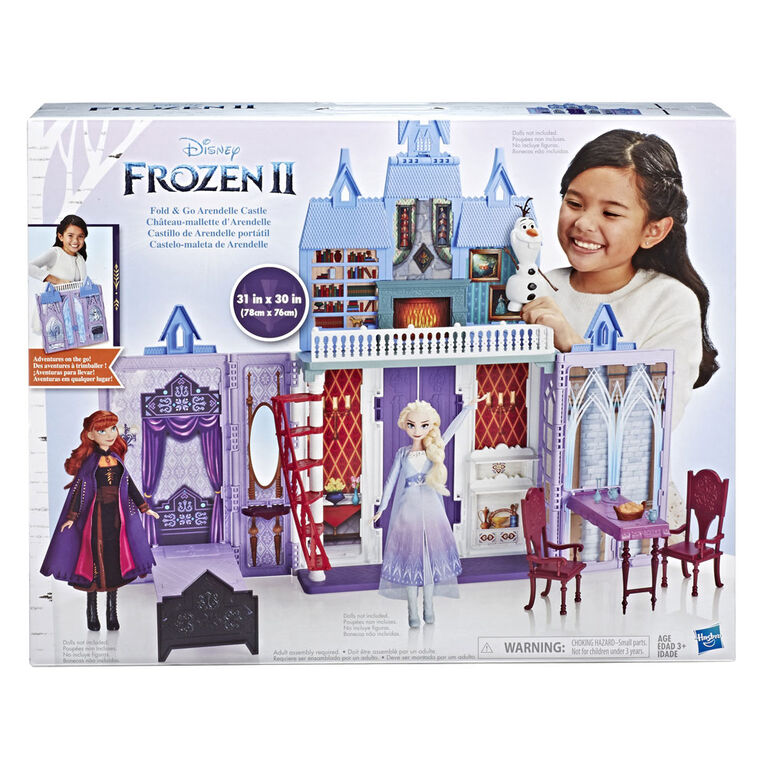 Disney Frozen Fold and Go Arendelle Castle Playset