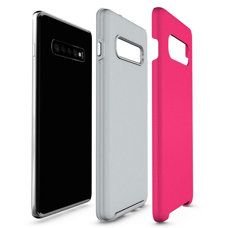 Blu Element Étui Armor 2X Rose pour Samsung Galaxy S10+