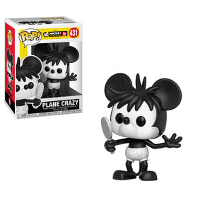 Figurine en vinyle Plane Crazy de Mickey's 90th par Funko POP!.