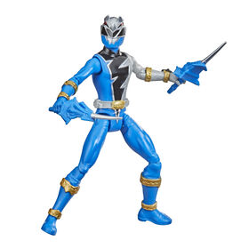 Power Rangers Dino Fury Blue Ranger Action Figure