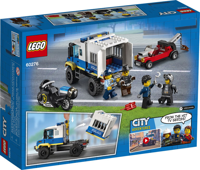 LEGO City Police Le transport des prisonniers 60276
