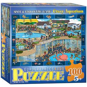 Crazy Aquarium - Spot & Find 100-Piece Puzzle