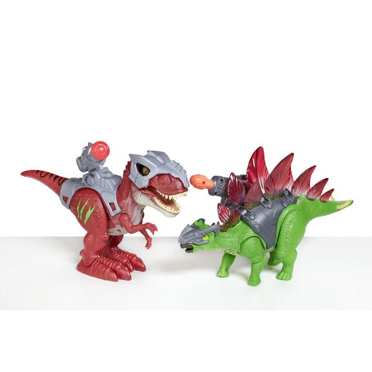 Robo Alive Dino Wars Stegosaurus Toy by ZURU