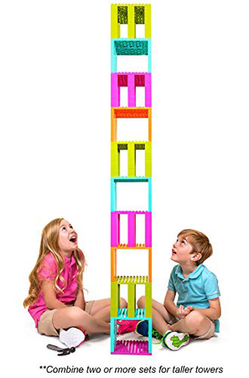 Strictly Briks - Brik Buster Tower Toppling Game - 133 Pieces